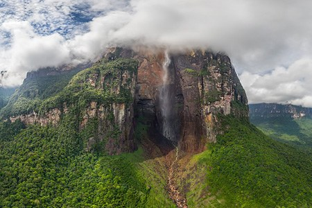 Angel Falls, Venezuela. Part I