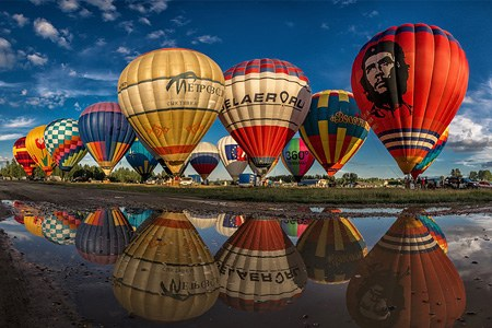 The Golden Ring of Russia Air Balloon festival