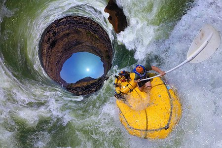 Rafting on Zambezi River, Zambia-Zimbabwe