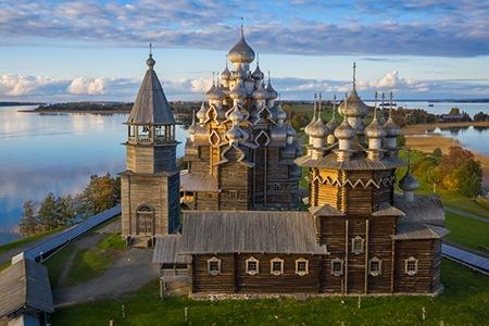 Kizhi. The wooden wonder of Russia