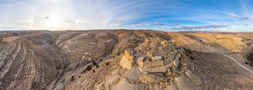 Shoubak Castle, Jordan • AirPano.com • 360° Aerial Panoramas • 360° Virtual Tours Around the World