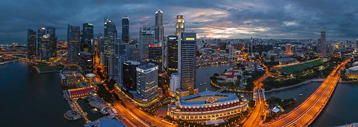 Singapore - Dream City • AirPano.com • 360 Degree Aerial Panorama • 3D Virtual Tours Around the World