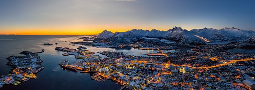 Svolaer, Lofoten archipelago, Norway • AirPano.com • 360° Aerial Panoramas • 360° Virtual Tours Around the World
