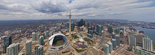 Virtual Tour of Toronto, Canada - AirPano.com • 360 Degree Aerial Panorama • 3D Virtual Tours Around the World