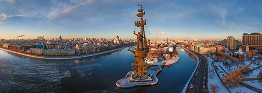 Moscow, Russia • AirPano.com • 360° Aerial Panoramas • 360° Virtual Tours Around the World