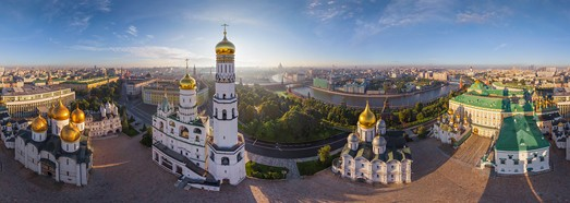Moscow Kremlin, Russia • AirPano.com • 360° Aerial Panoramas • 360° Virtual Tours Around the World
