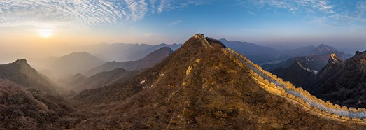 Great Wall of China. Jiankou and Jiaoshan. Part I • AirPano.com • 360° Aerial Panoramas • 360° Virtual Tours Around the World