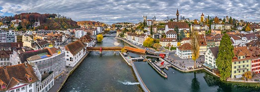 Lucerne, Switzerland. Part I • AirPano.com • 360° Aerial Panoramas • 360° Virtual Tours Around the World