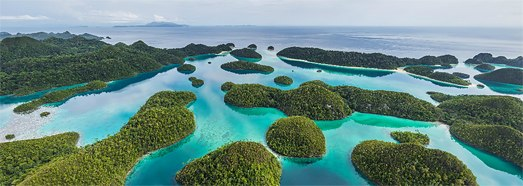 Raja Ampat archipelago, Indonesia • AirPano.com • 360° Aerial Panoramas • 360° Virtual Tours Around the World