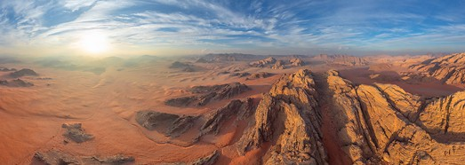 Wadi Rum Desert, Jordan • AirPano.com • 360° Aerial Panoramas • 360° Virtual Tours Around the World