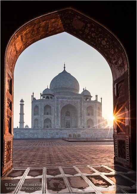 India, Taj Mahal #6 • AirPano.com • Photo