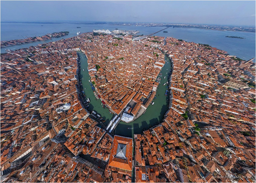 The heart of Venice • AirPano.com • Photo