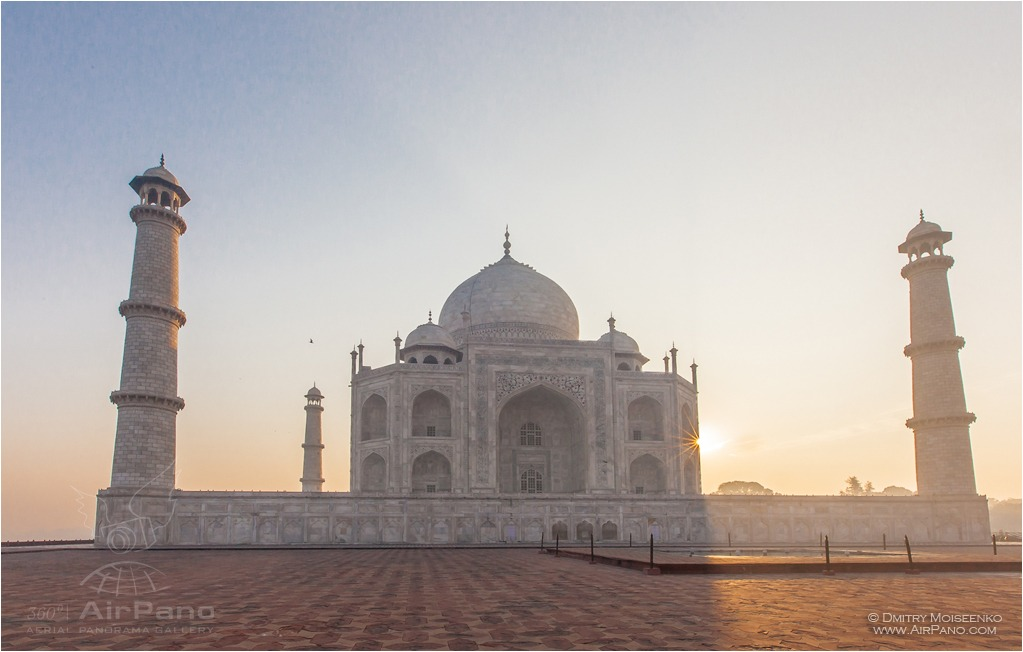 India, Taj Mahal • AirPano.com • Photo