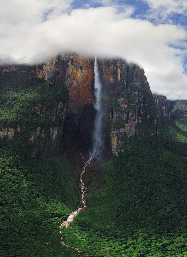 Venezuela, Angel Falls • AirPano.com • Photo