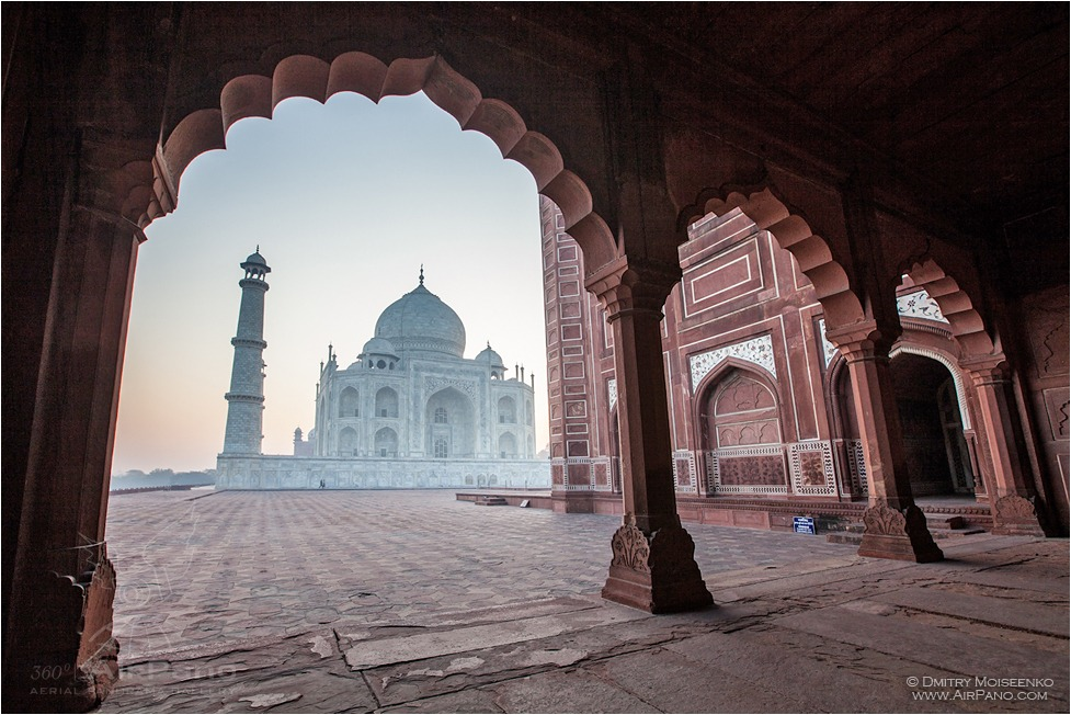 India, Taj Mahal #5 • AirPano.com • Photo