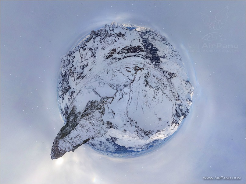 Switzerland, the Matterhorn Planet • AirPano.com • Photo