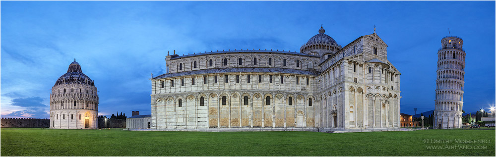 Italy, Square of Miracles (Piazza dei Miracoli) • AirPano.com • Photo