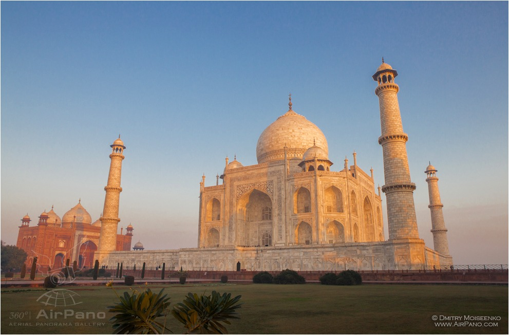 India, Taj Mahal #4 • AirPano.com • Photo