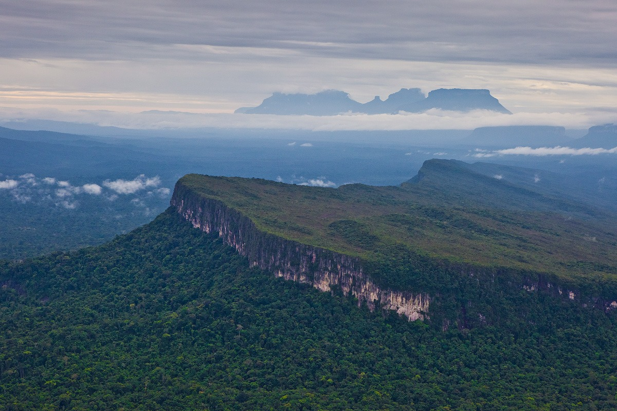Venezuela, surroundings Angel Falls, tepui • AirPano.com • Photo
