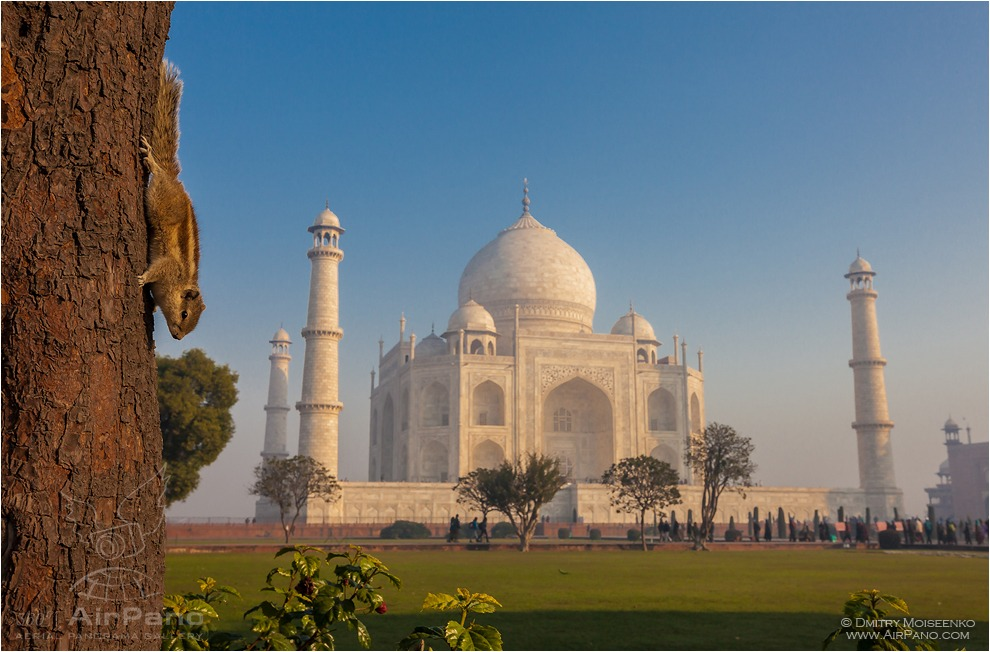 India, Taj Mahal #3 • AirPano.com • Photo