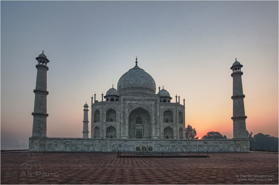 India, Taj Mahal #8 • AirPano.com • Photo