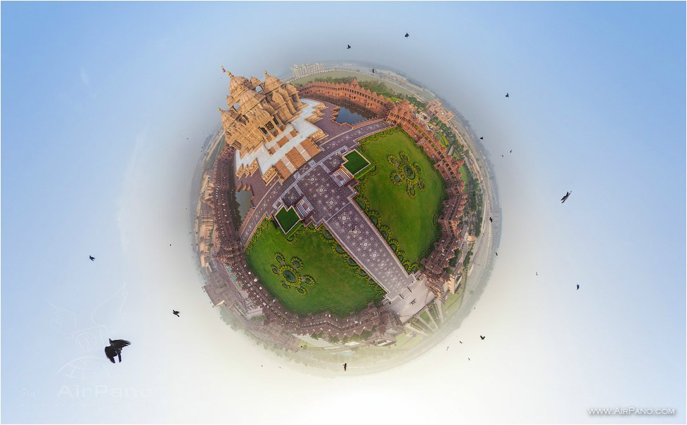 Planet of Akshardham • AirPano.com • Photo