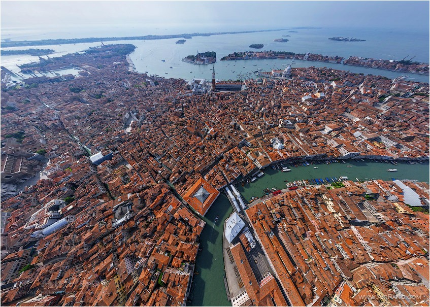 Top view of Venice • AirPano.com • Photo