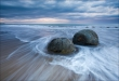 Moeraki Boulders, New Zealand • AirPano.com • Photo