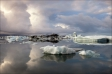 Ice lagoon Jökulsárlón, Iceland • AirPano.com • Photo