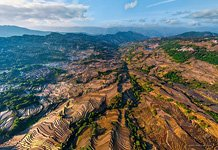 Yuanyang rice terraces #17
