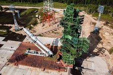 First launch of the Angara rocket #10 (© NetWind.ru)