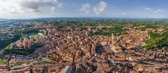 Bird's-eye view of Siena #1