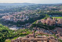 Bird's-eye view of Siena #19