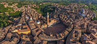 Bird's-eye view of Siena #5