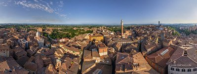 Bird's-eye view of Siena #7