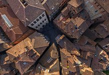 Bird's-eye view of Siena #21