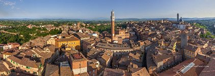 Bird's-eye view of Siena #16