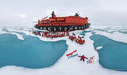 Nuclear-powered icebreaker «50 Let Pobedy» #3