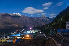 Lukla at night