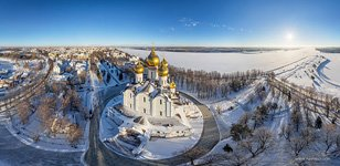 Bird's eye view of the Assumption Cathedral #1