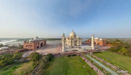 Taj Mahal from the south-west