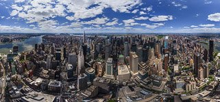 Panorama of Manhattan #2