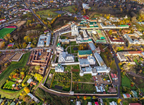 Bird's eye view of Rostov Kremlin