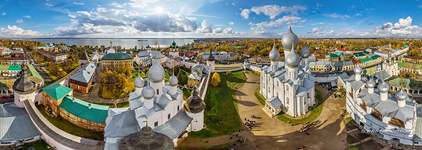 Panorama of Rostov Kremlin #3
