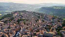 Bird's eye view of Orvieto #4