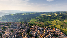 Bird's eye view of Orvieto #3