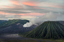 Bromo Tengger Semeru National Park at dawn