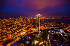 Space Needle. Seattle, USA