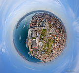 Above the Tophane Kasrı. Planet