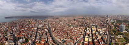 Bird's eye view of Istanbul #4